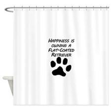 Happiness Is Owning A Flat-Coated Retriever Shower