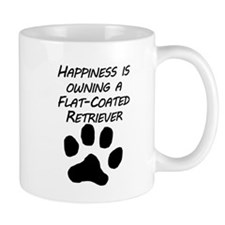 Happiness Is Owning A Flat-Coated Retriever Mugs