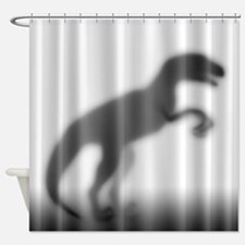 Raptor Silhouette Shower Curtain