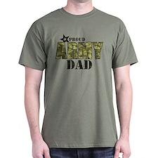 Camo Proud Army Dad T-Shirt