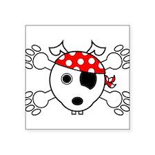 pirate dog Sticker