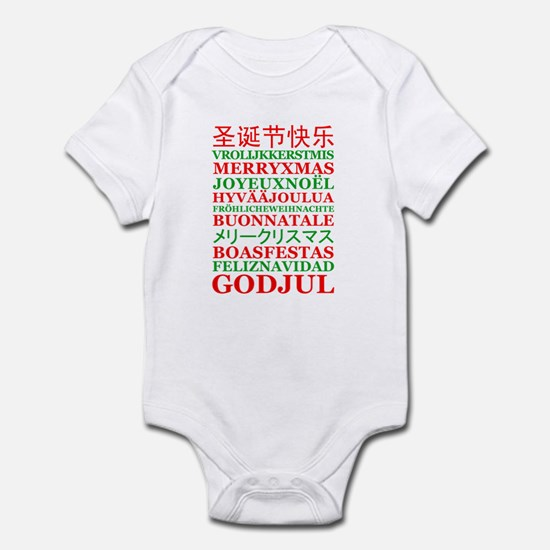 """""""Christmas Language"""" Infant Bodysuit"""