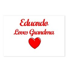 Eduardo Loves Grandma Postcards (Package of 8)