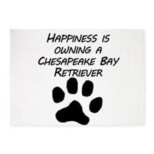 Happiness Is Owning A Chesapeake Bay Retriever 5'x