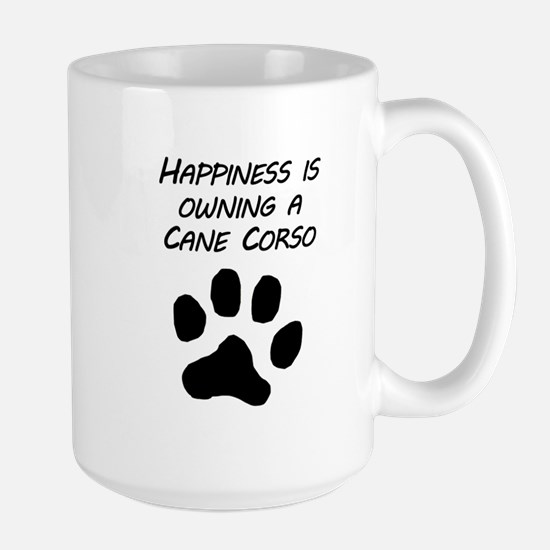 Happiness Is Owning A Cane Corso Mugs