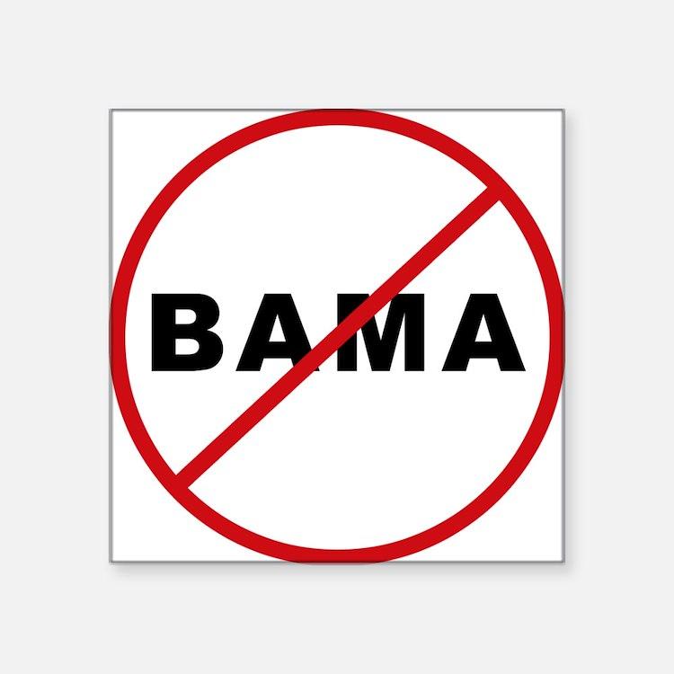 No_Bama Sticker