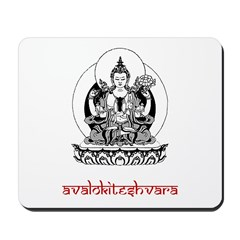Avalokiteshvara Mousepad