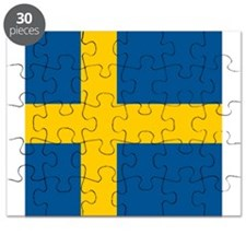 Flag of Sweden Puzzle