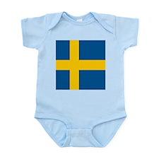 Flag of Sweden Body Suit