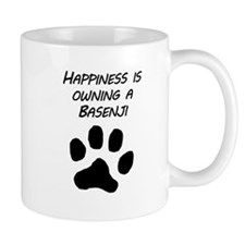 Happiness Is Owning A Basenji Mugs