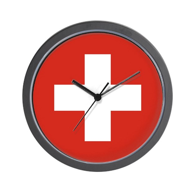 Flag Of Switzerland Wall Clock By Admin Cp49789583