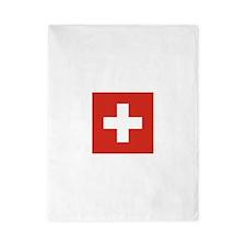 Flag of Switzerland Twin Duvet