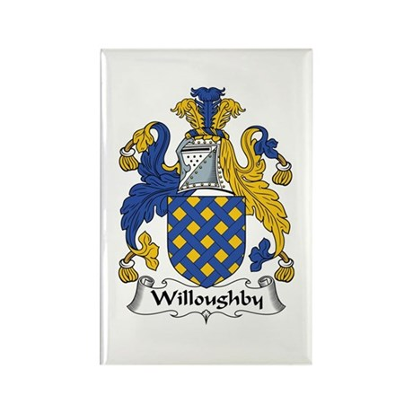 Willoughby Rectangle Magnet (100 pack)