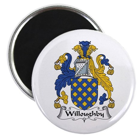 """Willoughby 2.25"""" Magnet (10 pack)"""