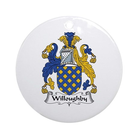 Willoughby Ornament (Round)