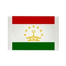 Flag of Tajikistan Magnets