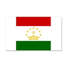 Flag of Tajikistan Car Magnet 20 x 12