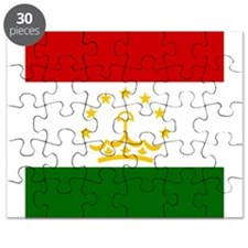 Flag of Tajikistan Puzzle