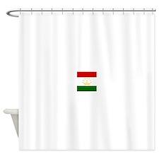 Flag of Tajikistan Shower Curtain