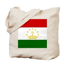 Flag of Tajikistan Tote Bag