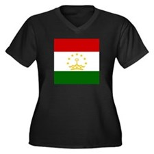 Flag of Tajikistan Plus Size T-Shirt