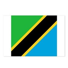 Flag of Tanzania Postcards (Package of 8)