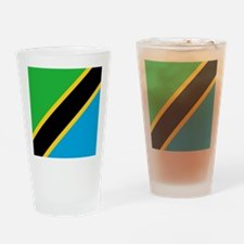 Flag of Tanzania Drinking Glass