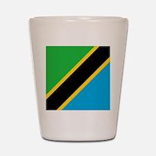 Flag of Tanzania Shot Glass