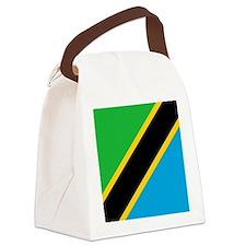 Flag of Tanzania Canvas Lunch Bag