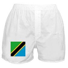 Flag of Tanzania Boxer Shorts