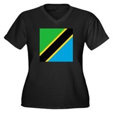 Flag of Tanzania Plus Size T-Shirt