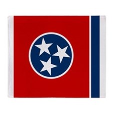 Flag of Tennessee Throw Blanket