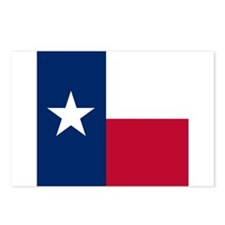 Flag of Texas Postcards (Package of 8)