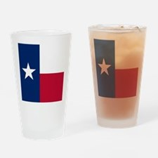 Flag of Texas Drinking Glass