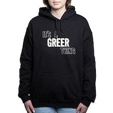 Its A Greer Thing Women's Hooded Sweatshirt