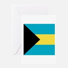 Flag of the Bahamas Greeting Cards