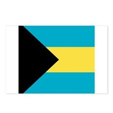 Flag of the Bahamas Postcards (Package of 8)