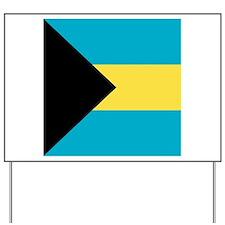Flag of the Bahamas Yard Sign