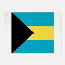Flag of the Bahamas 5'x7'Area Rug