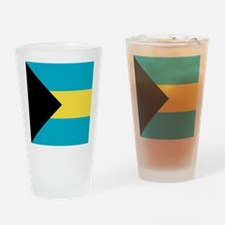 Flag of the Bahamas Drinking Glass