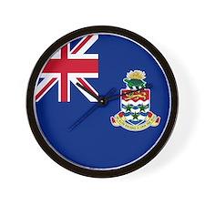 Flag of the Cayman Islands Wall Clock