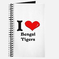 I love bengal tigers Journal