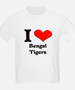 I love bengal tigers T-Shirt