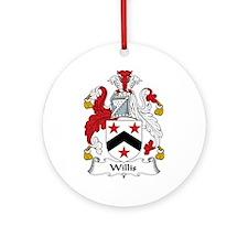 Willis Ornament (Round)