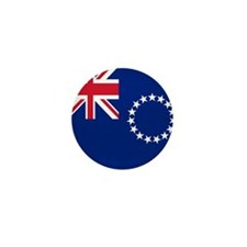 Flag of the Cook Islands Mini Button