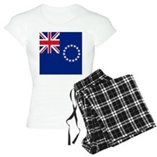 Flag of the Cook Islands pajamas