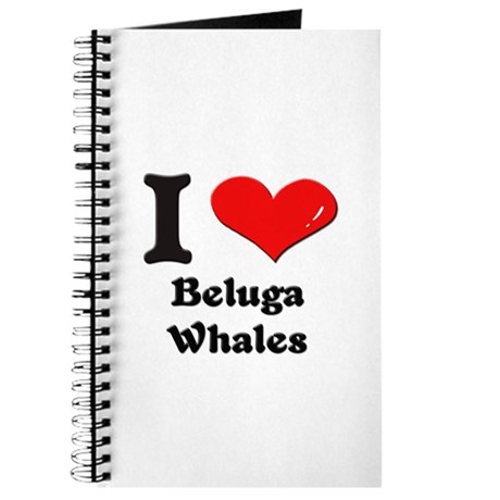 I love beluga whales Journal