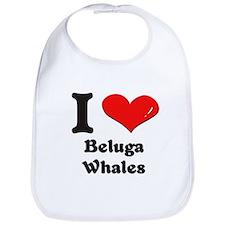 I love beluga whales  Bib