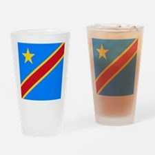 Flag of Congo Drinking Glass