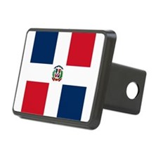 Flag of the Dominican Republic Hitch Cover